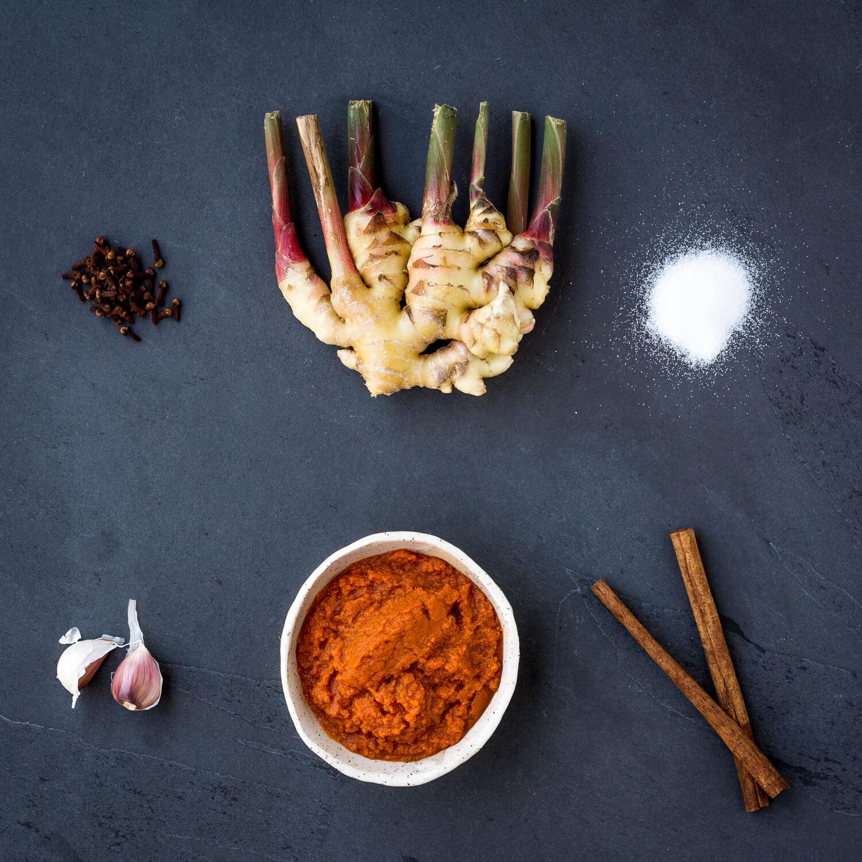 Sauce aux prunes - fait avec de la citrouille