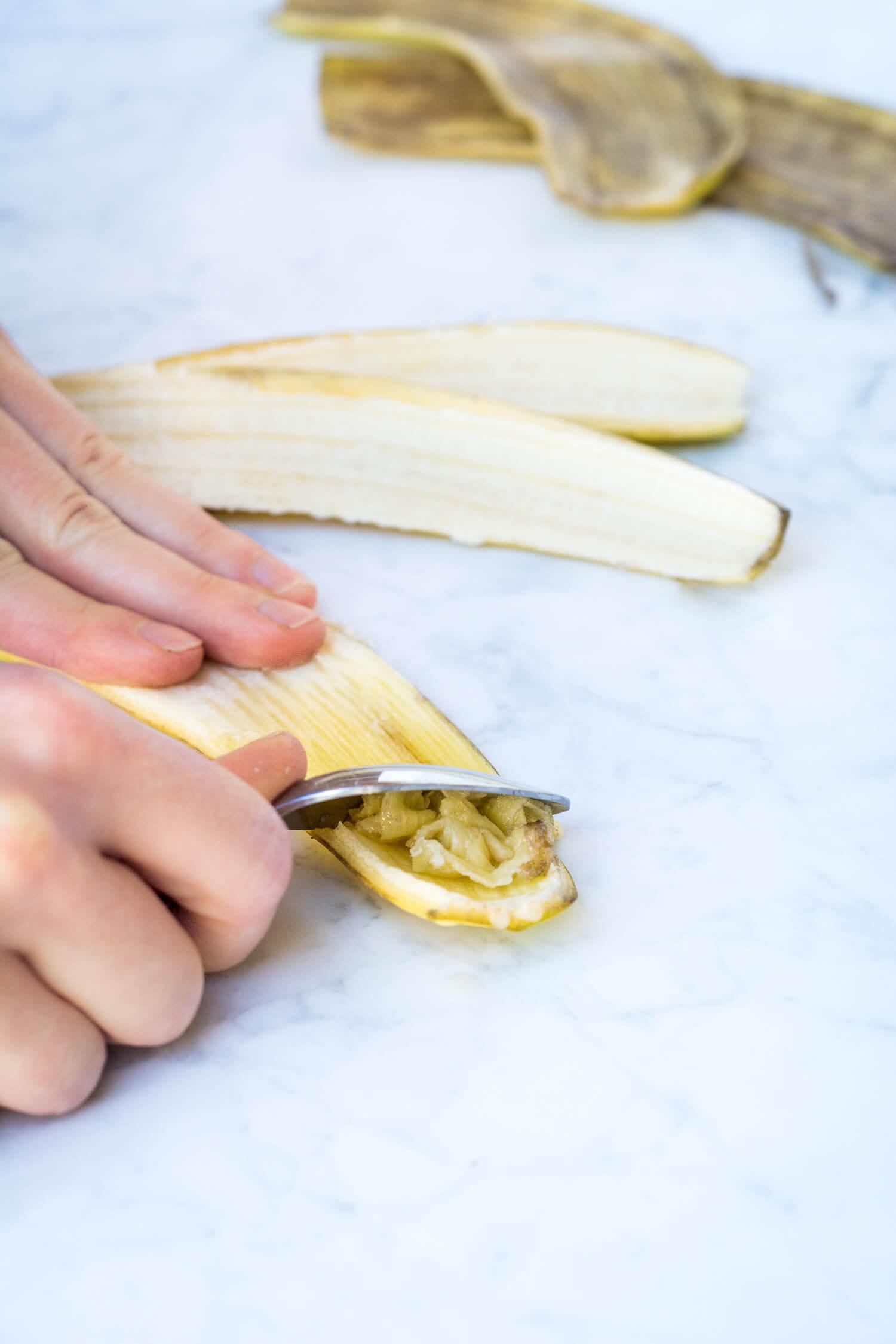 Pelures de banane