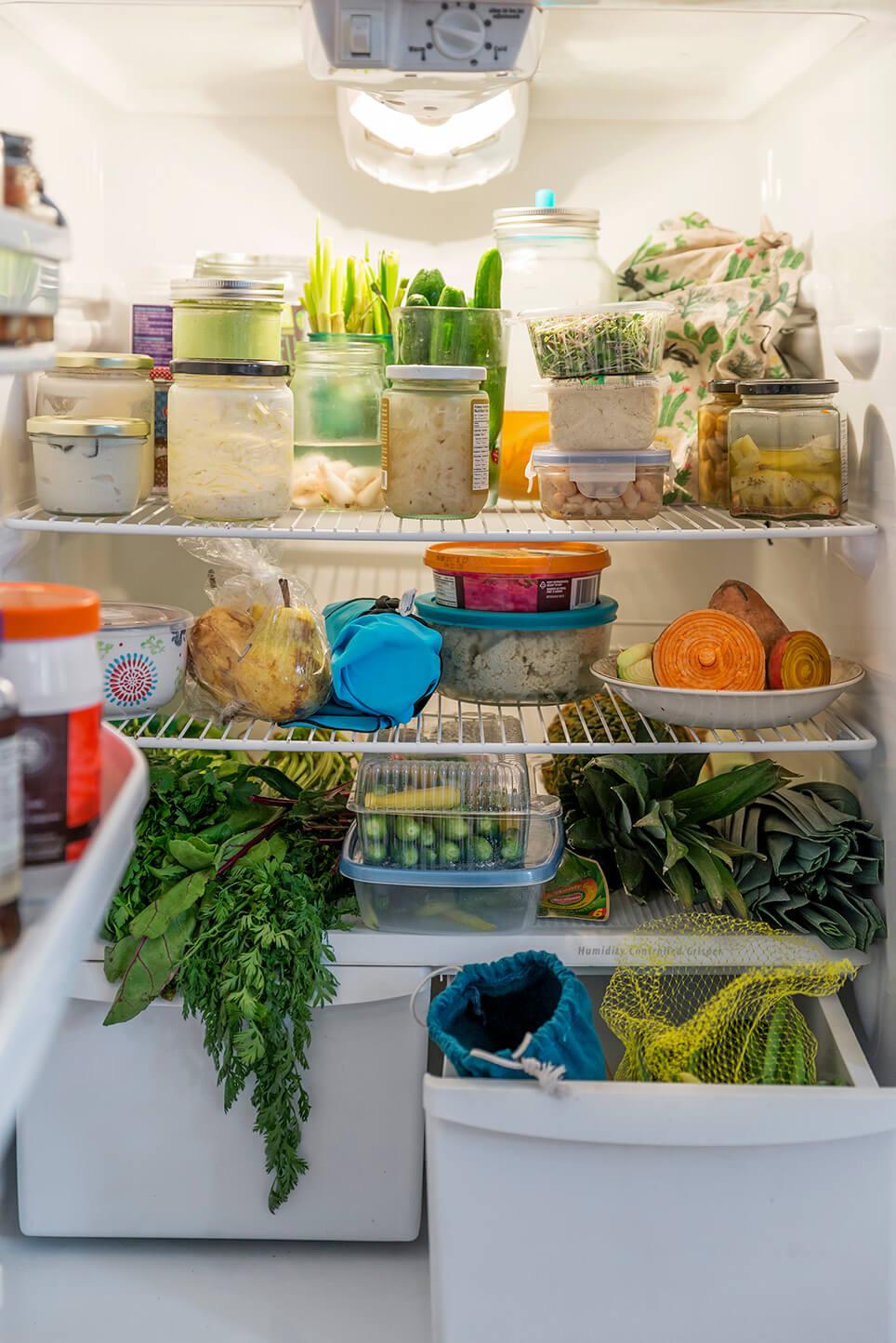 Comment Ranger Dans Un Frigo anatomie d'un frigo zéro déchet - chic frigo sans fric