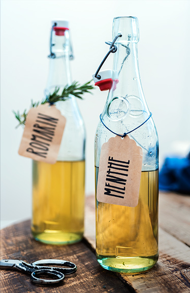 Infusions d'herbes