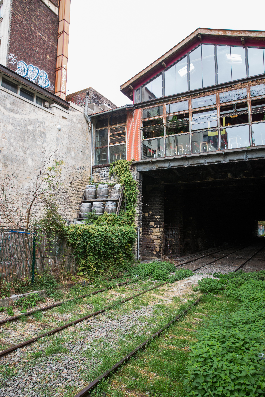 Par Marorie Guindon La Recyclerie est une ancienne gare aménagée en café bistrot