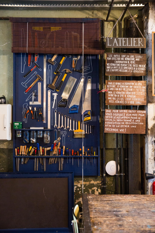 Par Marorie Guindon La Recyclerie offre plus de 700 ateliers par année.