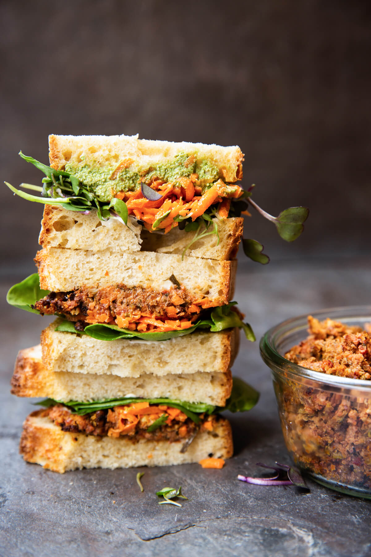 Sandwich de végé-pâté | Chic Frigo Sans Fric
