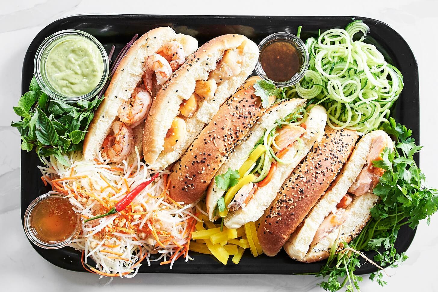 2e vie | sandwich vietnamien Banh mi | Chic Frigo Sans Fric