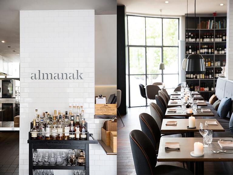 Le restaurant Almanak