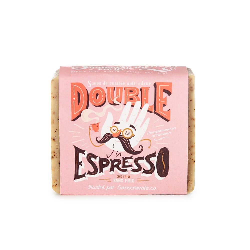 Savon double espresso