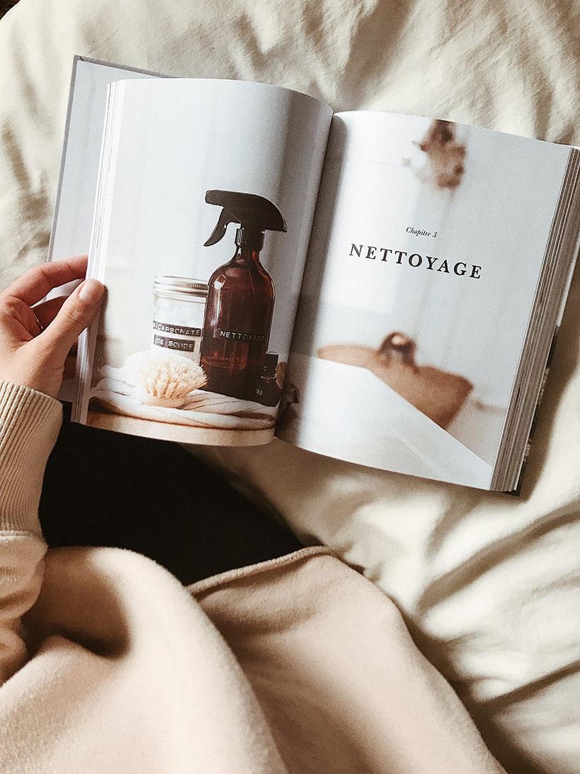Un exemple des magnifiques photos qu'on retrouve dans le livre Minimal de Dans le sac.