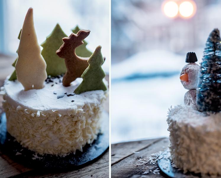 Des petits gâteaux très simples qui changent de look grâce à vos décos ou vos surplus!