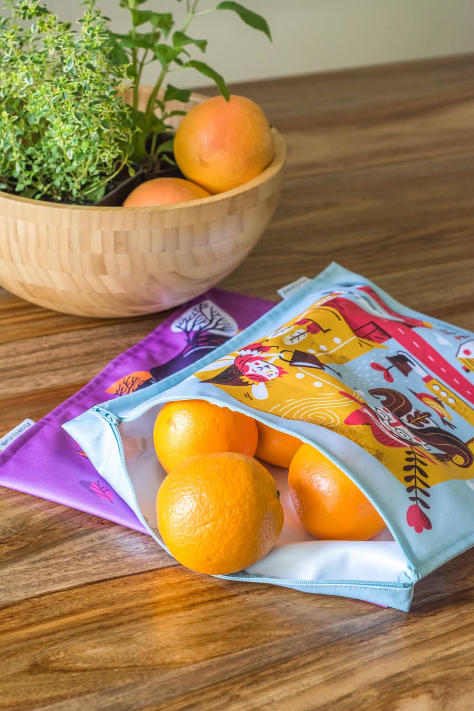 Sacs alimentaires zéro déchet Demain Demain: coup de cœur du Chic Frigo Sans Fric