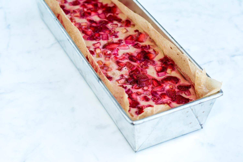 Barres fraises rhubarbe du Chic Frigo Sans Fric