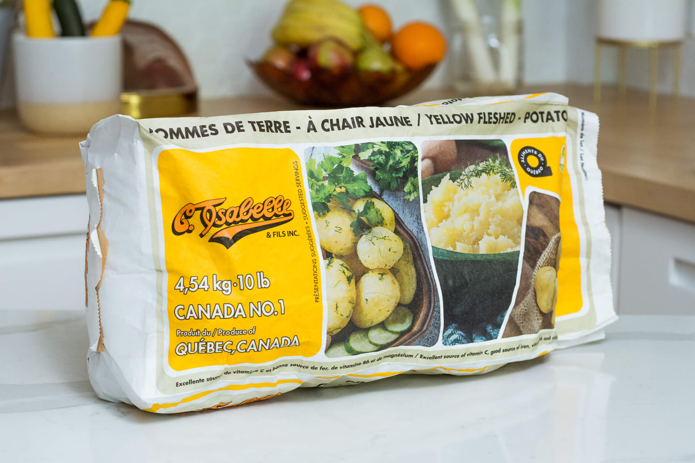 Sac de pommes de terre de C. Isabelle et fils Inc.