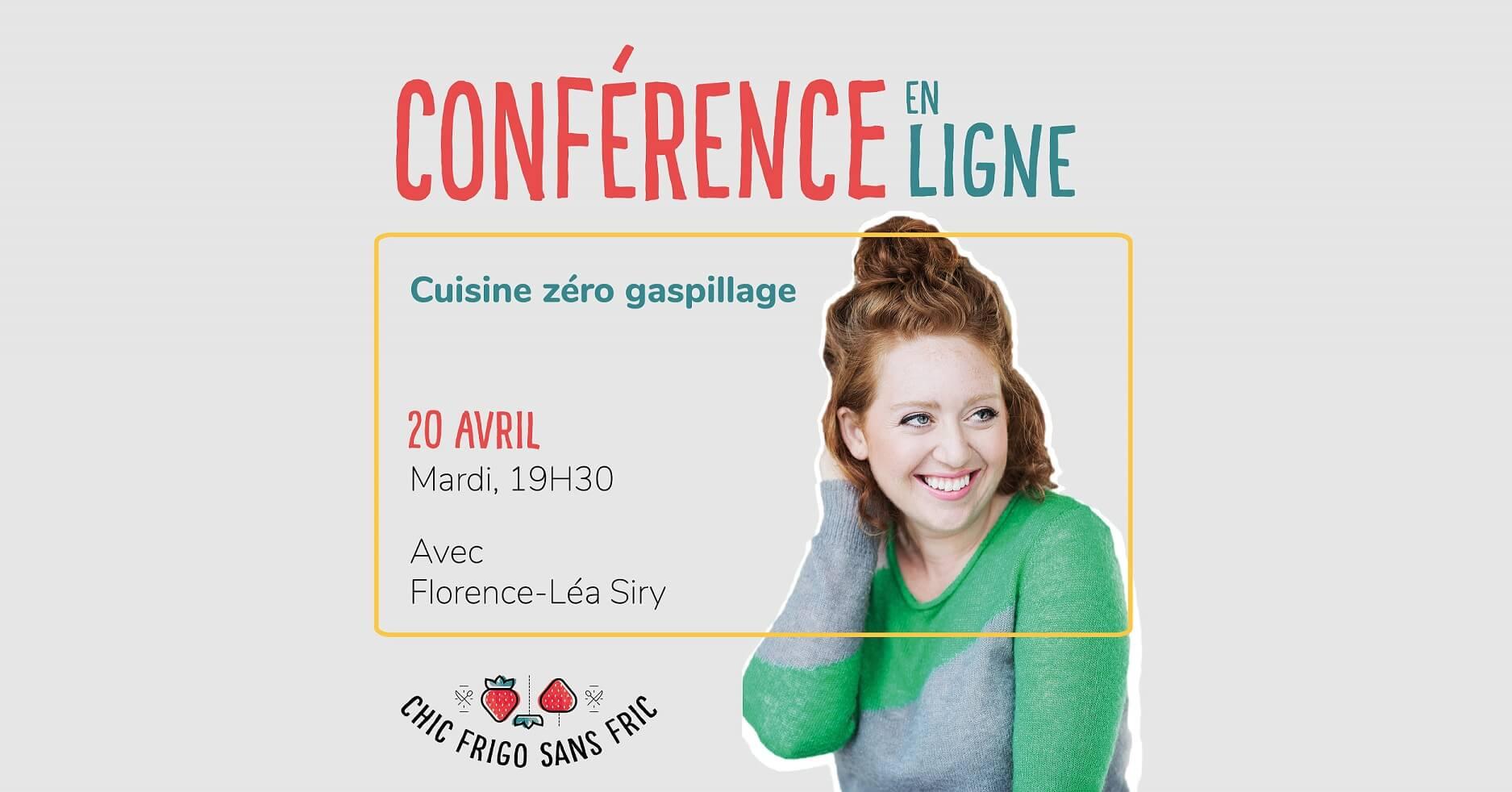 Conférence zéro gaspillage du 20 avril